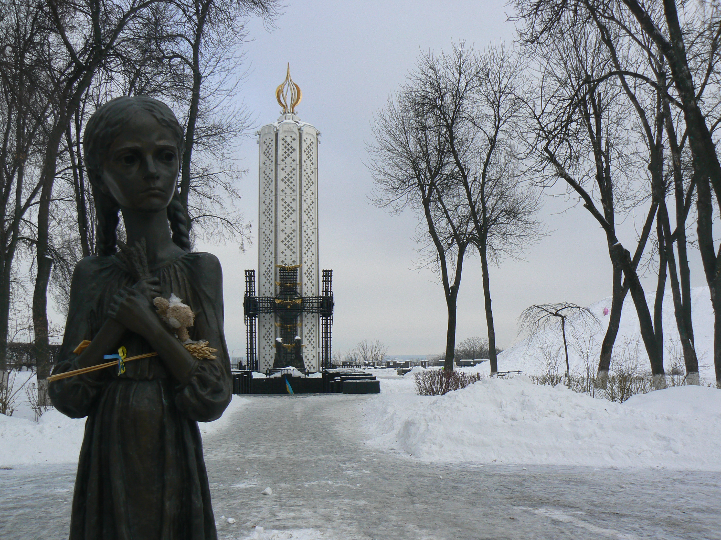 memorial to holodomor victims
