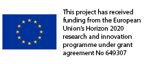 This project has received funding from the European Union's Horizon 2020 research and innovation programme under grant agreement No 649307